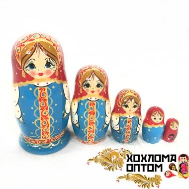 """Матрешка """"Сарафанчик"""" 5 кукольная"""