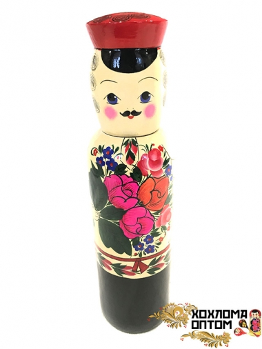 "Matryoshka traditional bottle case 0,7 ""Ivan"""
