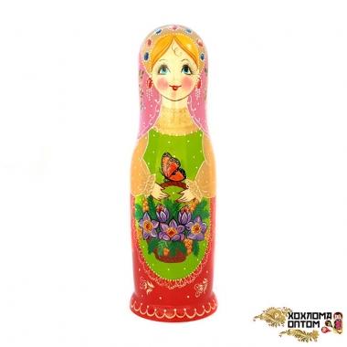 """Matryoshka not traditional """"Bottle case 0,7"""""""