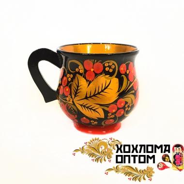 "Cup ""Khokhloma for juice"""