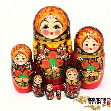 """Матрешка """"Ягодки"""" 7 кукольная"""