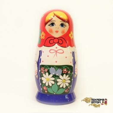 """Матрешка """"Синий сарафан"""" 5 кукольная"""