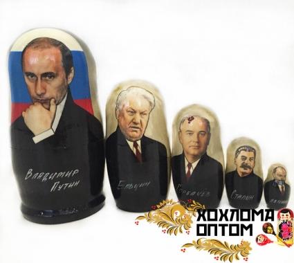 """Матрешка """"Путин"""" 5 кукольная"""
